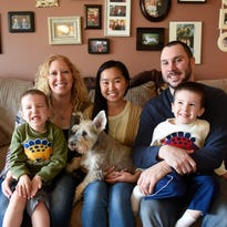 Japanese exchange student is the 2nd generation to stay with same family