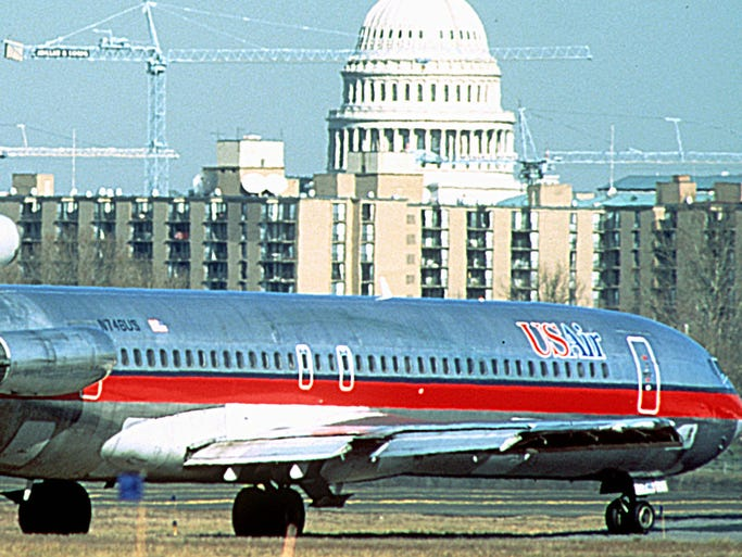 A Look At Some Of Us Airways Airplane Liveries From The