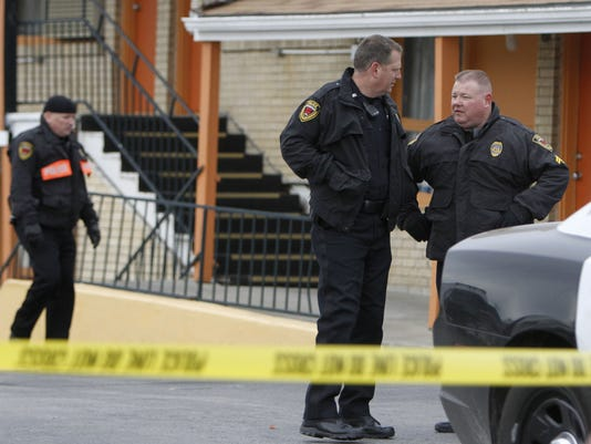 Triple homicide at north Springfield hotel
