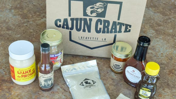 Tara Guidry is launching a new monthly subscription service called Cajun Crate that will give subscribers five to seven surprise Louisiana products each month with recipes and history on the products.