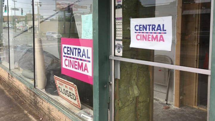 A new Knoxville movie theater, Central Cinema, 1205
