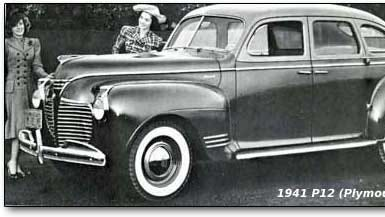 A 1941 Plymouth.