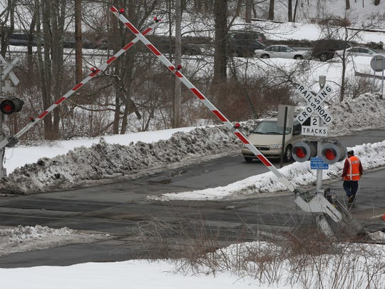 Metro-North Railroad workers tested crossing equipment