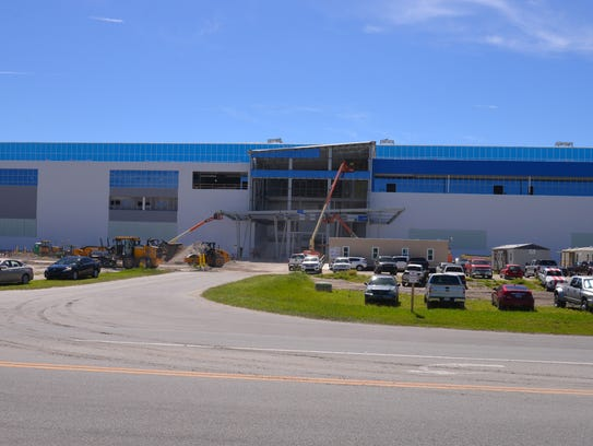 Blue Origin's facility at Exploration Park is the subject
