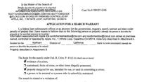 This search warrant, apparently released in error, offers the clearest picture of the FBI case to date.