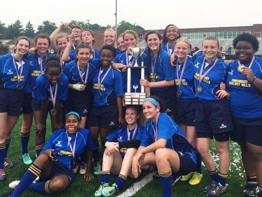 walnut hills girls rugby team title