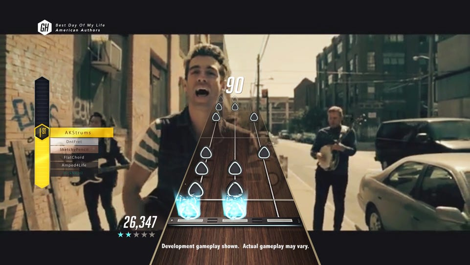 The new 'Guitar Hero Live' video game has a GHTV online