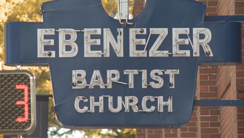 Ebenezer Baptist Church in Atlanta