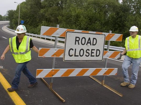 Before dawn tuesday drivers will see a change as i 71 traffic exits