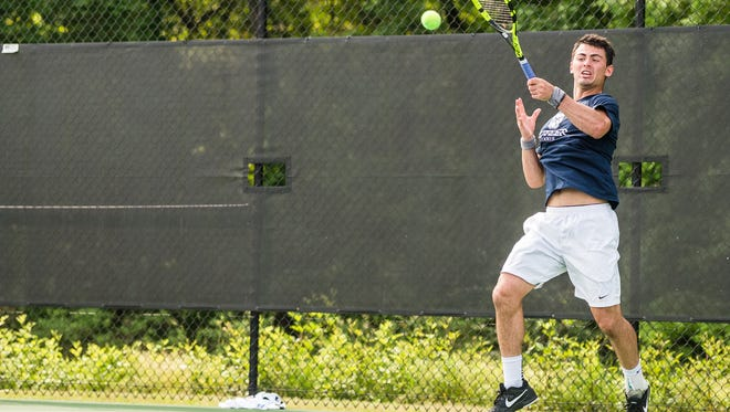 Mason Dragos, a 2015 state singles champ for Lexington, will represent Butler twice in the NCAAs.