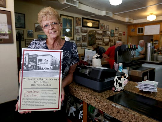 Marlene Blanchard, owner of the Court Street Dairy
