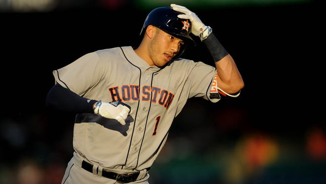 Carlos Correa is on place for career highs in RBI and home runs.