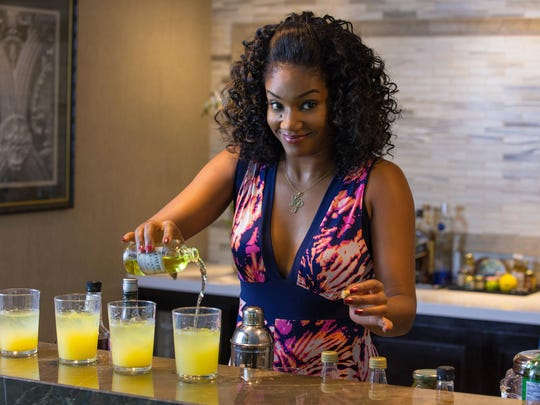 Don't trust her! Haddish's party girl Dina puts absinthe in her friends' drinks to make for an eventful night in New Orleans.