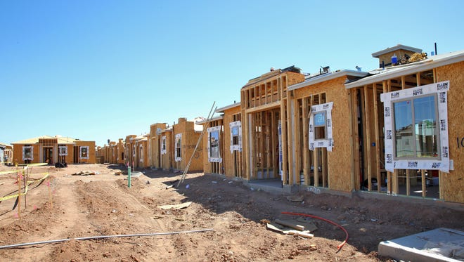 Construction on a Christopher Todd Communities rental property in Surprise is expected to be finished this winter.