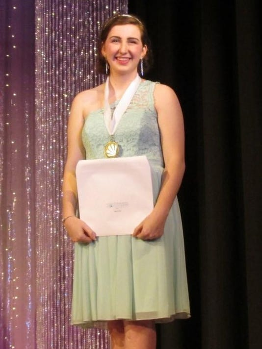 Caroline Spurr Distinguished Young Women 1