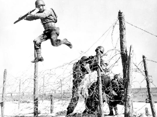 The Army base 55 miles southwest of Tallahassee, near Carrabelle, trained soldiers for the amphibious landing at Normandy on D-Day.