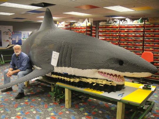 Lego Master Builder Stephen Gerling made this  21-foot
