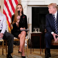Trump says only 'highly trained' teachers should have guns to prevent school shootings