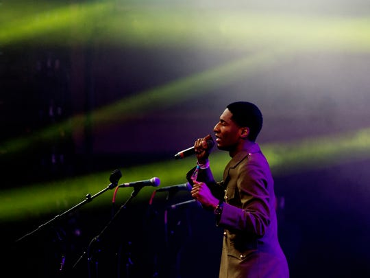 Jon Batiste performs during the Soul Shakedown Superjam