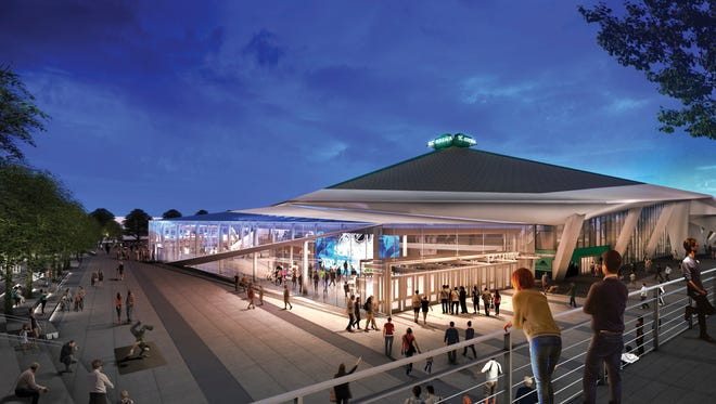 Oak View Group released new renderings of the remodeled KeyArena on Feb. 26, beginning a busy week for the group that is looking to bring NHL Hockey to Seattle for the 2020 season.