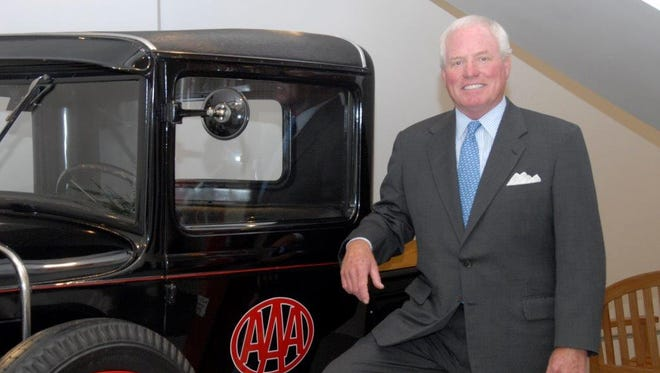 James L Pease, CEO of AAA Allied Group, Inc., announced his retirement Tuesday.