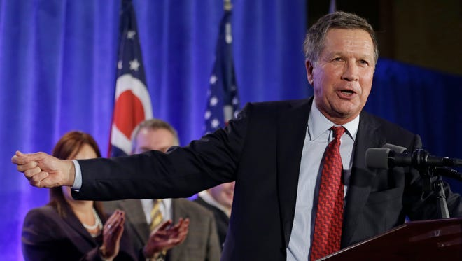 Gov. John Kasich will push tax reform and support his Medicaid expansion in his second term.