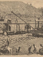The Cornwall iron mines, depicted in this undated photograph, were a major supplier of iron to Lebanon's booming steel industry.