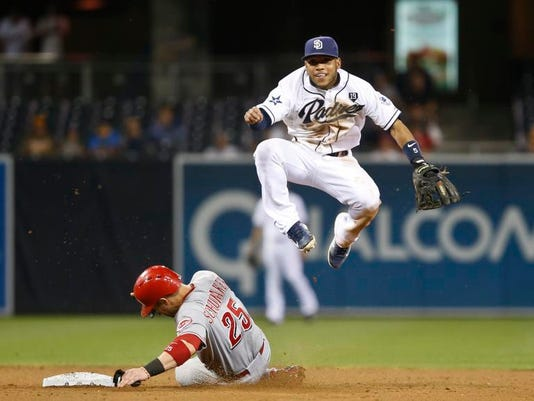 Reds Padres Baseball (2)