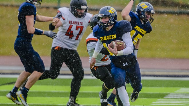 Cameron Wirth is among the returning players for the reigning Division 7 state champion Pirates.