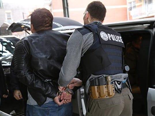 Immigration arrest