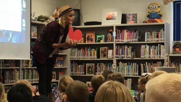 National award-winning children's author Julia Cook visits Highland Elementary on March 29.