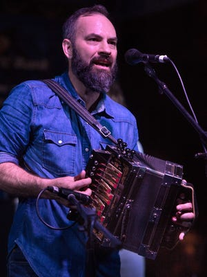 Roddie Romero leads the Angelle Aces, a Cajun band featuring UL students, Nov. 29 at the Blue Moon Saloon