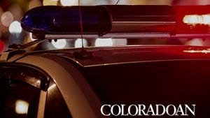 The Larimer County Sheriff's Office spent much of Wednesday morning searching for a suspect who fled form a traffic stop on I-25.