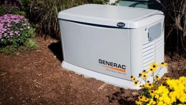Generac posted solid sales of residential equipment in the second quarter