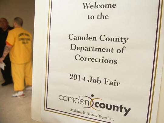 Camden County held a job fair for inmates at the Camden County Jail in Camden on Thursday.  05.15.14