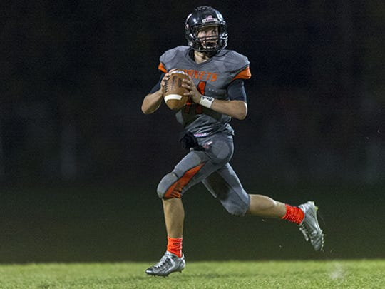 Beech Grove's Chase Andries