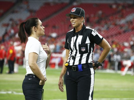 how many teams in the nfl nfl female referee