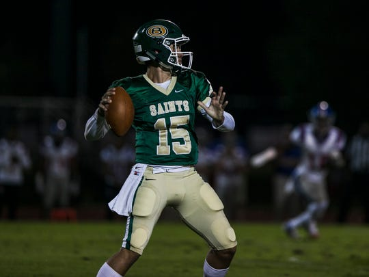 Jackson Walker and Briarcrest finished second in DII-AAA West and will have a bye when the playoffs begin Friday.