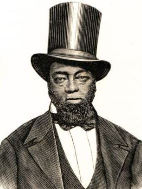 """Samuel D. Burris, shown in this historic engraving, is to be pardoned by Gov. Jack Markell for his """"crimes"""" of helping slaves to freedom."""