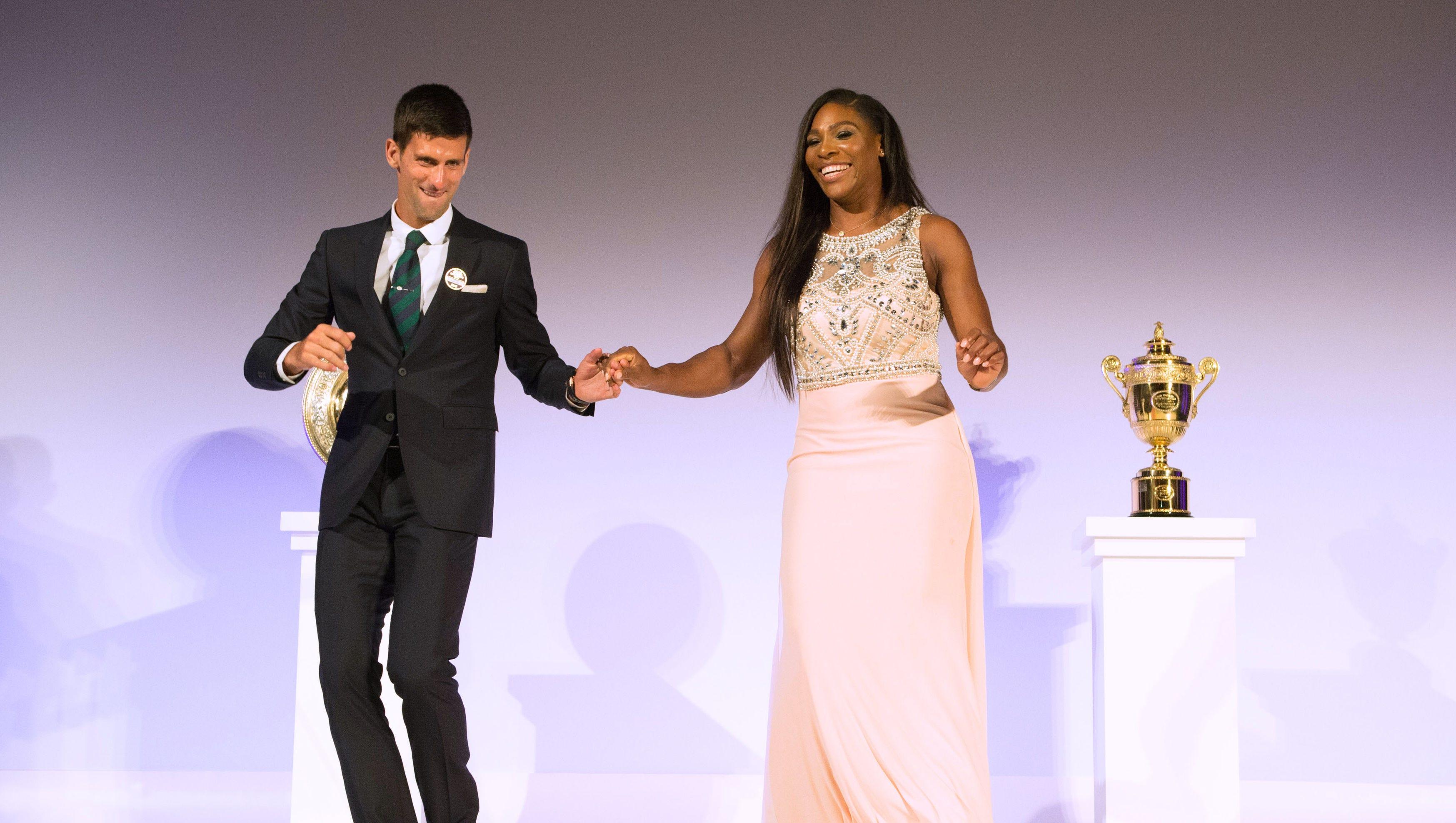 Serena Williams Novak Djokovic Would Love To Dance Again As Champions