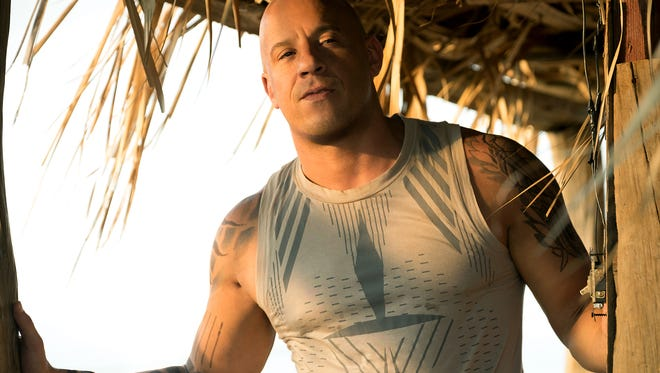 Vin Diesel as extreme athlete-turned-spy Xander Cage in the sequel 'xXx: Return of Xander Cage.'