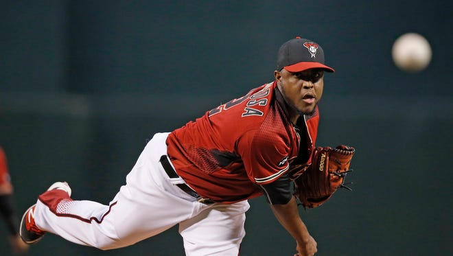 Rubby De La Rosa won't know for at least a few weeks whether he's in the clear with his elbow, but it's so far so good for the Diamondbacks right-hander.
