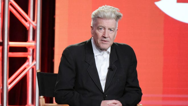 "David Lynch, photographed here in 2017, talked to ""The Guardian"" about his thoughts on President Donald Trump."