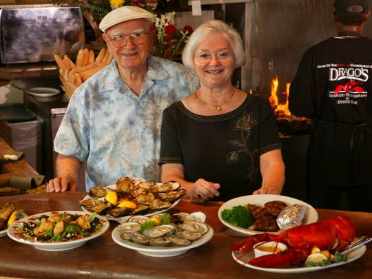 Drago and his wife Klara Cvitanovich opened Drago's Seafood Restaurant about 50 years ago. Drago died February 4, 2017, but Klara remains active in the family business.