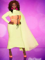 Mayhem Miller will be one of the drag queens hosting Foxie at Moxie on Sunday