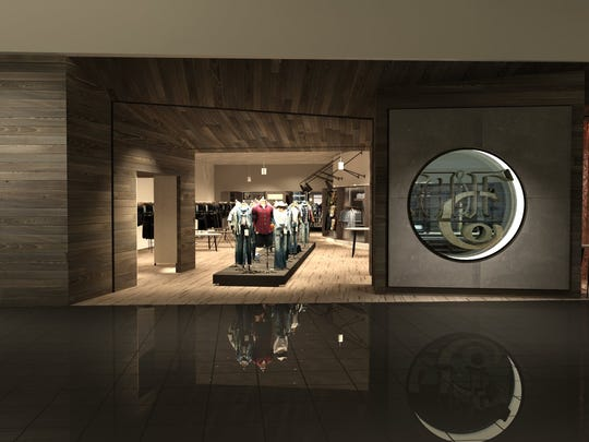 This image illustrates Abercrombie & Fitch's vision
