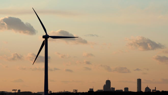 Gov. Matin O'Malley said he would veto a wind turbine bill Friday.
