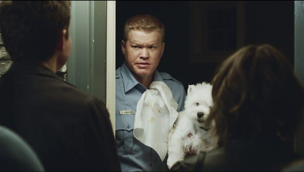 Jesse Plemons as Gary the cop in 'Game Night.'