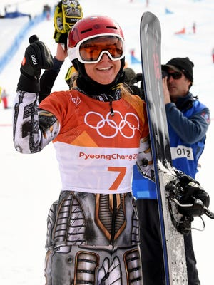 Ester Ledecka of the Czech Republic makes history and adds a second gold medal at these Games.