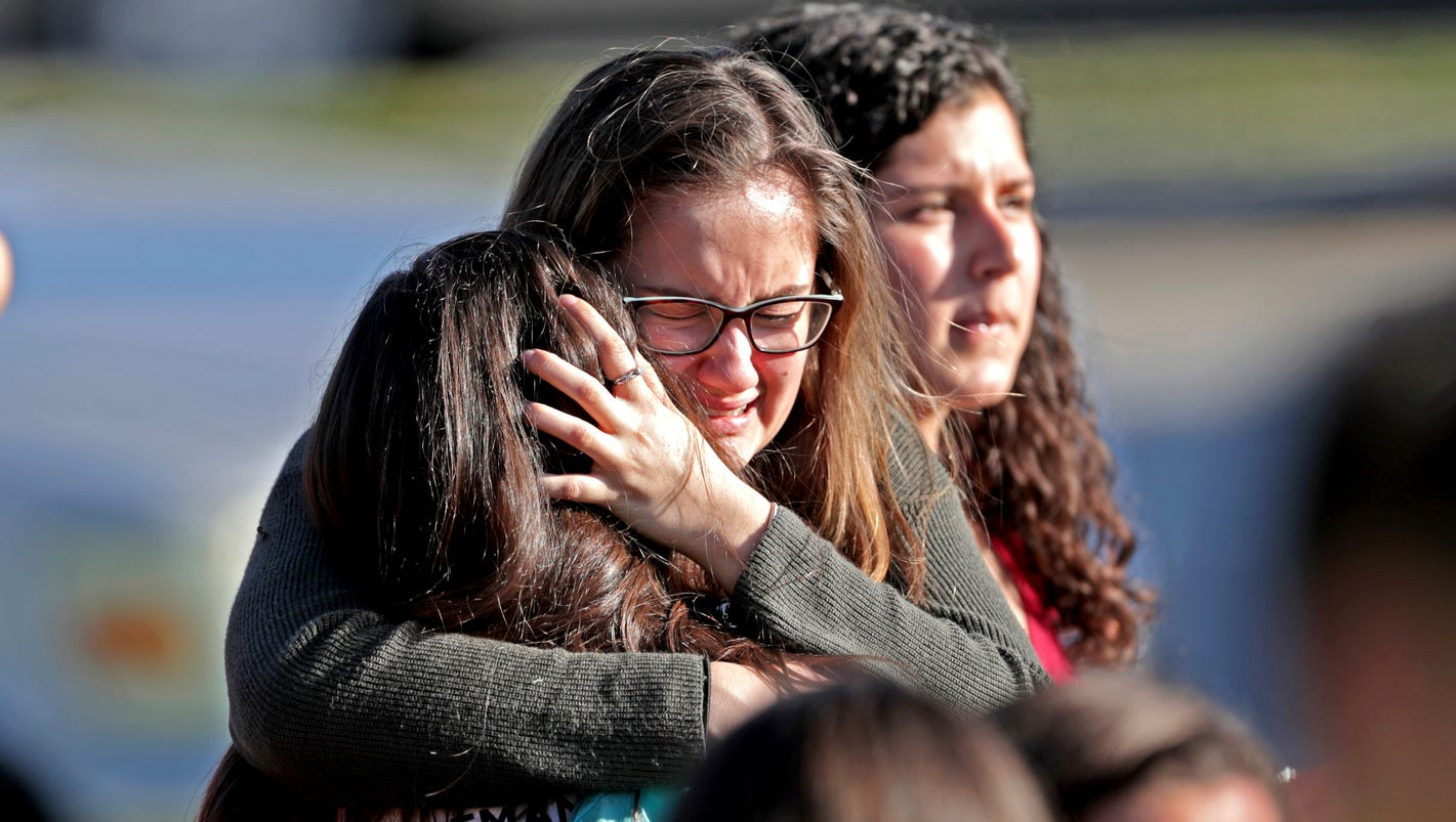 17 dead in Florida high school shooting